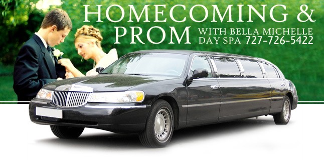 Homecoming and Prom | Bella Michelle Day Spa Clearwater FL