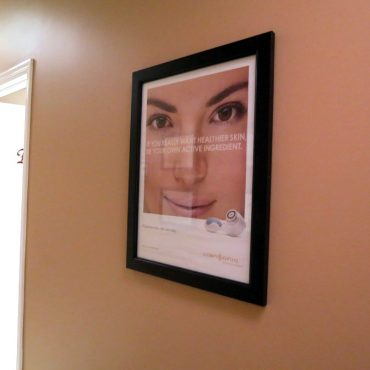Framed Smiling Woman Picture