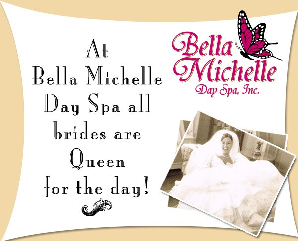 Bridal Makeup from Bella Michelle Day Spa in Clearwater FL